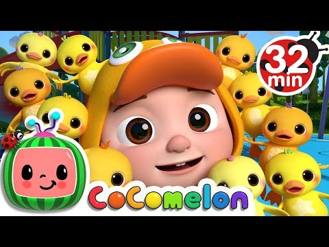 Ten Little Duckies (A Number Song) | +More Nursery Rhymes & Kids Songs - Cocomelon (ABCkidTV)