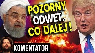Odwet Iranu na USA był POZORNY! – Dlaczego Amerykanie Nie Zestrzelili Rakiet?