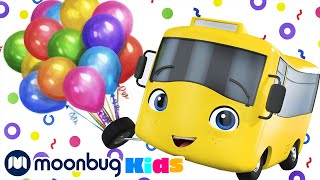 Buster And The Balloons   Cartoons and Kids Songs   Go Buster   Nursery Rhymes For Kids