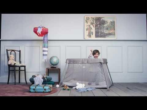 Cuna de Viaje Light 0 - 3 años BabyBjörn Plata