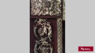 Antique French Louis XVI Style (19th Cent) 2 Door Cabinet