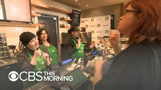 First sign language Starbucks store opens in Washington, D.C.