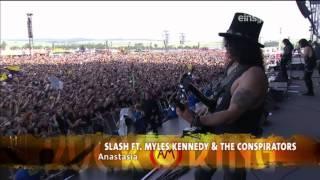 Slash Feat. Myles Kennedy & The Conspirators - Rock Am Ring 2015 FULL SHOW HD