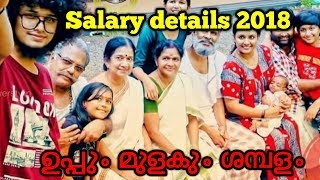 UPPUM MULAKUM LATEST  SALARY DETAILS 2018| EPISODE 701