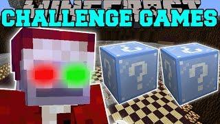 Minecraft: EVIL SANTA CHALLENGE GAMES - Lucky Block Mod - Modded Mini-Game