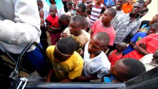 preview picture of video 'Tension leaving Batey 41 in Haiti'