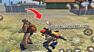 FINGINDO SER NOVATO NO FREE FIRE