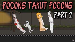 Pocong Takut Pocong - Part 2 | Animasi Horor Kartun Lucu | Warganet Life