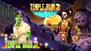 Temple Run 2 New Spirits Cove vs Spooky Summit | Temple Run 2 Halloween Update