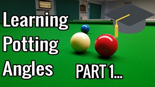 Learning Potting Angles   Snooker Lesson