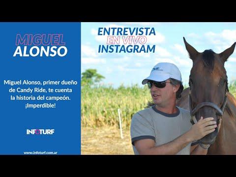 Entrevistas| Miguel Alonso y la historia de Candy Ride