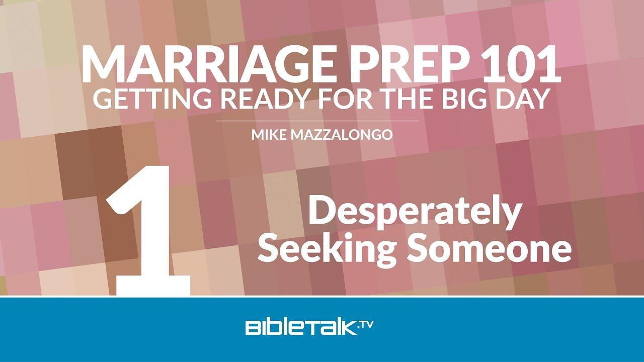 1. Desperately Seeking Someone