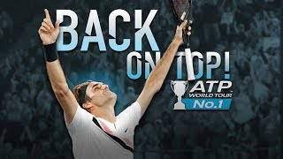 Players Congratulate Roger Federer On Return To No. 1 In ATP Rankings