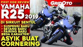 First Ride Yamaha New R25 2019 di Sirkuit Sentul