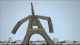 Eiffel Tower Animation