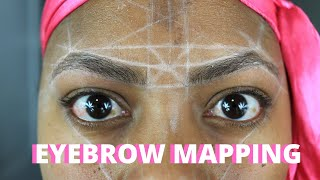HOW TO EYEBROW MAPPING: IS IT DIY FRIENDLY? ALSO.. WE DOING HENNA BROWS!