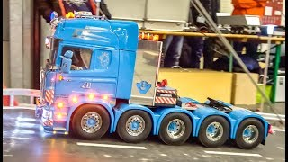 AMAZING RC Trucks In Motion On An Exhibition Display!