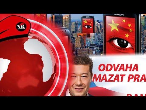 Uvědomuje si Okamura, že je Japonec? Je Huawei Čínský kapesní špión? - NR den 18.12.2018