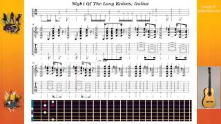 Night Of The Long Knives - Acdc - Guitar