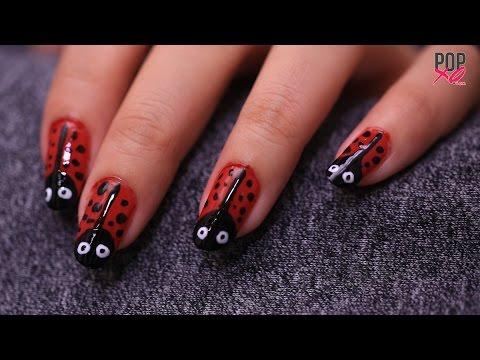 DIY Lady Bug Nail Art | Nail Art Designs – POPxo