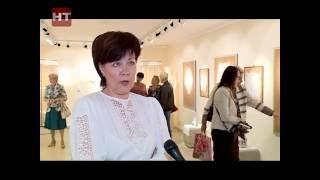 В областном Доме народного творчества открылась выставка «Крестецкая строчка»