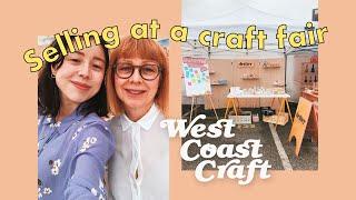RUNNING A SMALL BUSINESS | Craft Fair Vlog