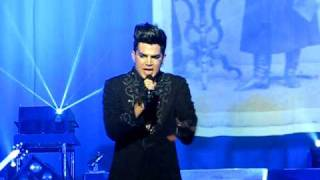 Adam Lambert Sleepwalker Knoxville, TN Jul 6, 2010