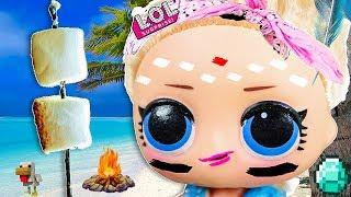 ОСТРОВ ПРОПАВШИХ ЛОЛ! Мультики куклы лол и Барби сюрпризы, Подруги Буги Вуги