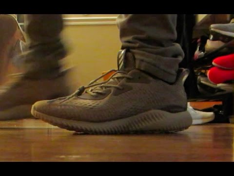 389ca8ac6 Tan Alpha Bounce Unboxing and On Foot Review Impression Review
