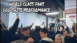 World class fans, dog s***e performance