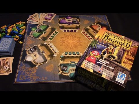 Jeremy Reviews It... - The Thief of Baghdad (2006) Board Game Review