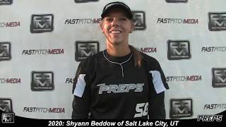 2020 Shyann Beddow Catcher Softball Skills Video