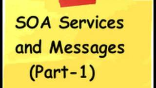 What is SOA, Services and Messages? - Part 1