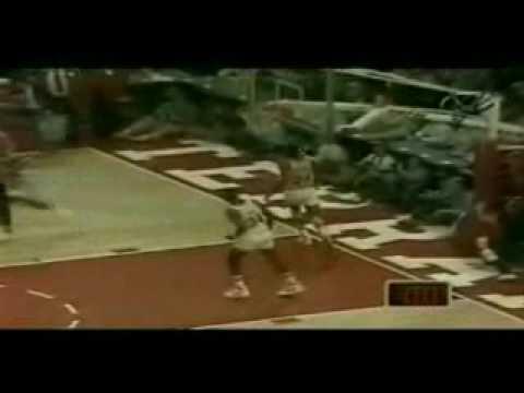 """Michael Jordan """"Rock the Cradle"""" Dunk"""