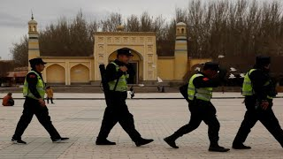 China reportedly using Uighur Muslims to produce face masks - Download this Video in MP3, M4A, WEBM, MP4, 3GP