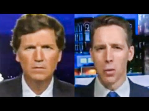 Josh Hawley and Tucker Carlson Cry Over Getting Cancelled