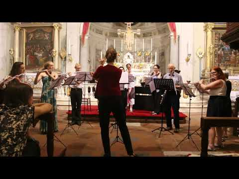 Bonny at Morn - Orriss/Trad. Performed live in 'Flutes in Tuscany' 2019
