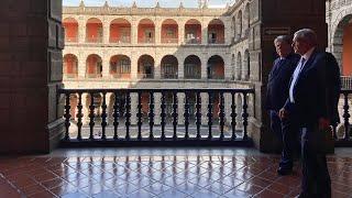 Visita Al Mural De Diego Rivera En Palacio Nacional