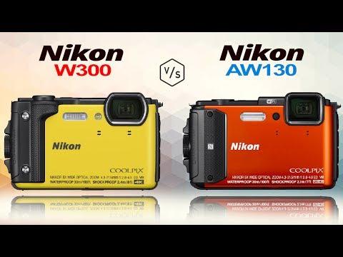 Nikon COOLPIX W300 vs Nikon COOLPIX AW130