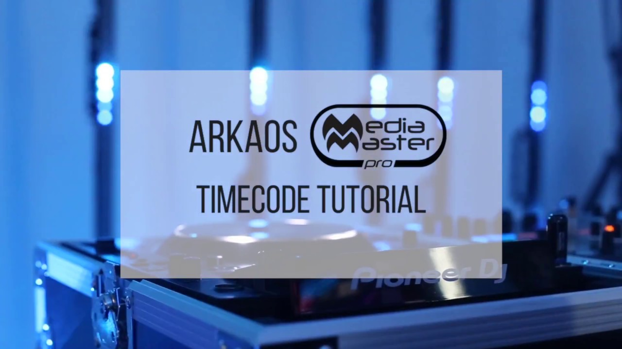 MediaMaster Timecode Tutorial with Pioneer CDJ decks and ShowKontrol LIVE