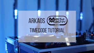 ArKaos MediaMaster Video Tutorial - 20. MediaMaster Timecode Tutorial with Pioneer CDJ decks and ShowKontrol LIVE