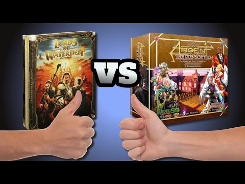 Lords of Waterdeep vs Argent: The Consortium - A comparative review