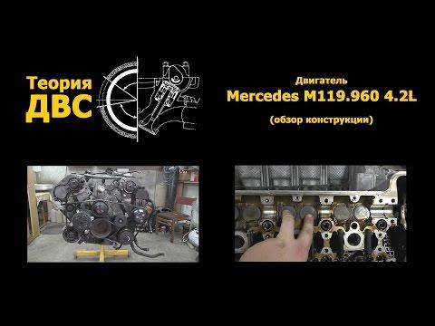 Двигатель Mercedes M119.960 4.2L (обзор конструкции)