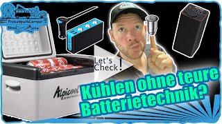 Compressor Kühlbox ohne teure Batterie betreiben? (Alpicool C20)