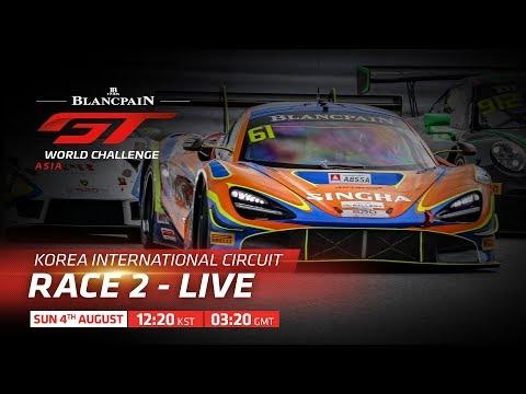 RACE 2 - YEONGAM KOREA -BLANCPAIN GT WORLD CHALLENGE ASIA