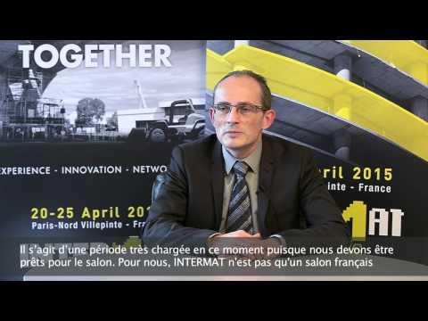 Ils préparent INTERMAT Paris 2015 - Groupe Putzmeister