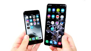 IPhone SE 2020 Vs Galaxy S20 Ultra Speed Test!