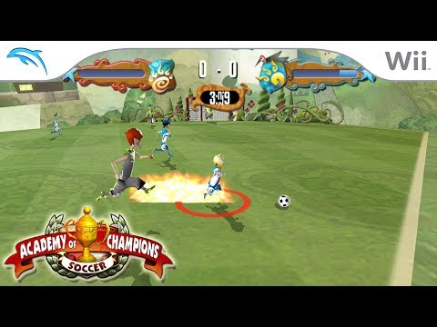 Academy of Champions: Soccer | Dolphin Emulator 5.0-7157 [1080p HD] | Nintendo Wii