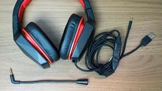 Lenovo Y Gaming Surround Sound Headset Review / Test