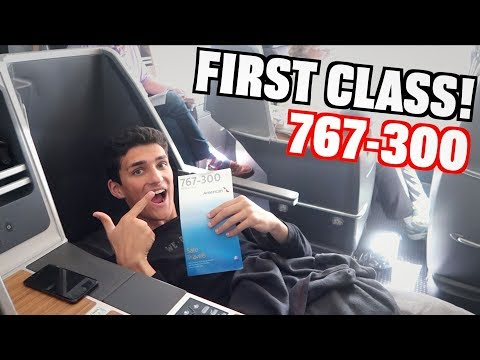 First Class American Airlines Boeing 767-300 Review (PHL-MIA)